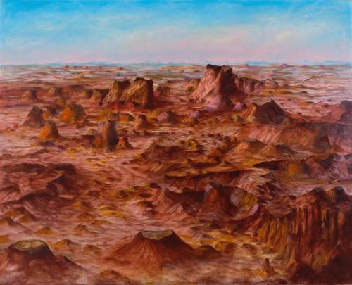 Inland Australia 1950 by Sir Sidney Nolan 1917-1992