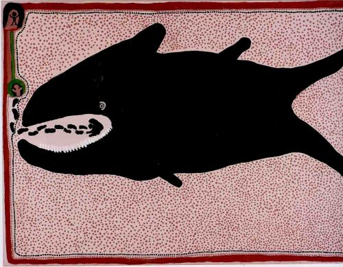 No. 2 Whale Fish Vomiting Jonah